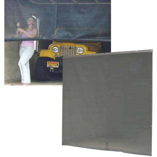 Snavely Instant Screen 108 In. W x 84 In. H Magnetic Garage Door Screen
