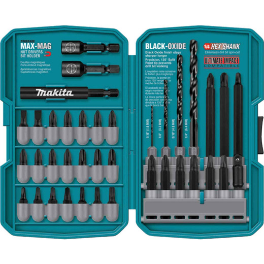 Makita 38-Piece Impact Drill and Drive Set