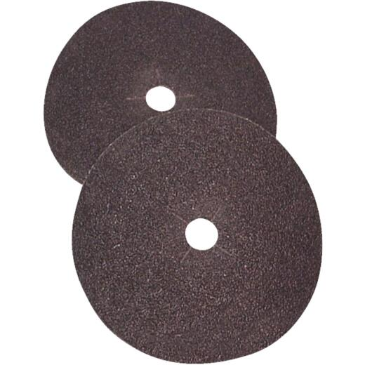 Virginia Abrasives 7 In. x 5/16 In. 60 Grit Floor Sanding Disc