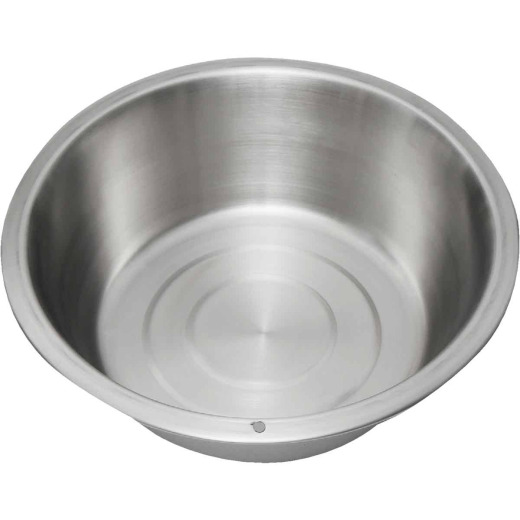 Lindy's 8.5 Qt. Stainless Steel Flat Bottom Dishpan