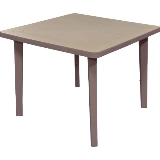 Adams 36 In. Square Portobello Resin Table