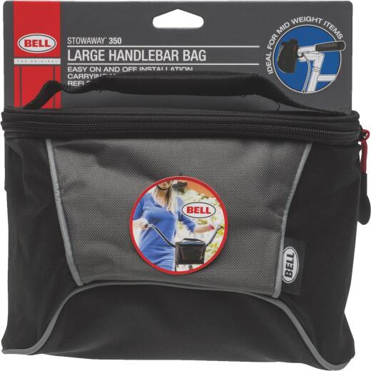 Bell Sports 5 In. W. x 4 In. H. x 8.5 In. L. Canvas Handlebar Bag